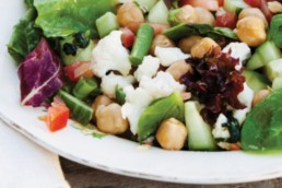 Diabetesboka: Vegetarsalat med kikerter