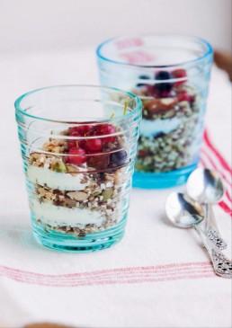 Yoghurt fra Diabetesboka - spis riktig og bli frisk