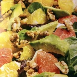 Vintersalat med sitrusfrukter